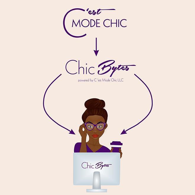 C'est Mode Chic Logo Redesign