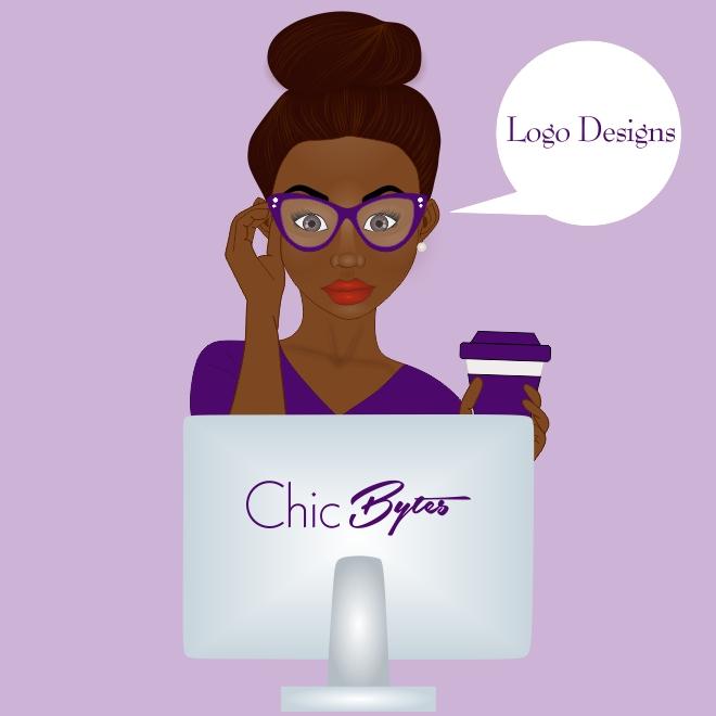 Chic Bytes Logo Designs Portfolio Cover Image