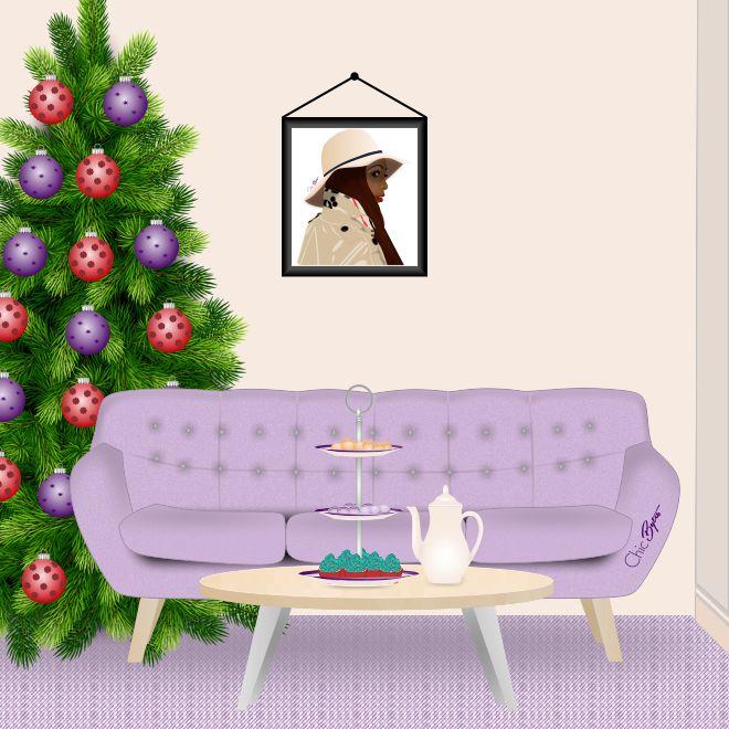 Chic Bytes Holiday Interior